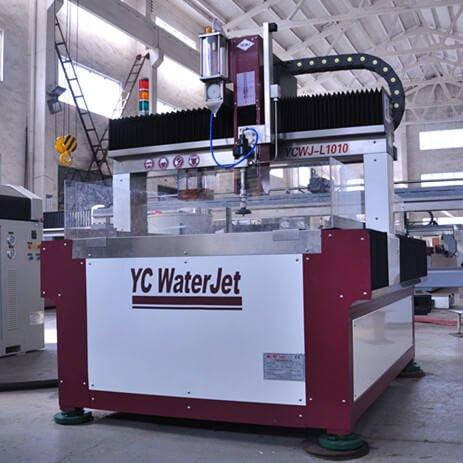 How to correctly treat each part of waterjet machine?