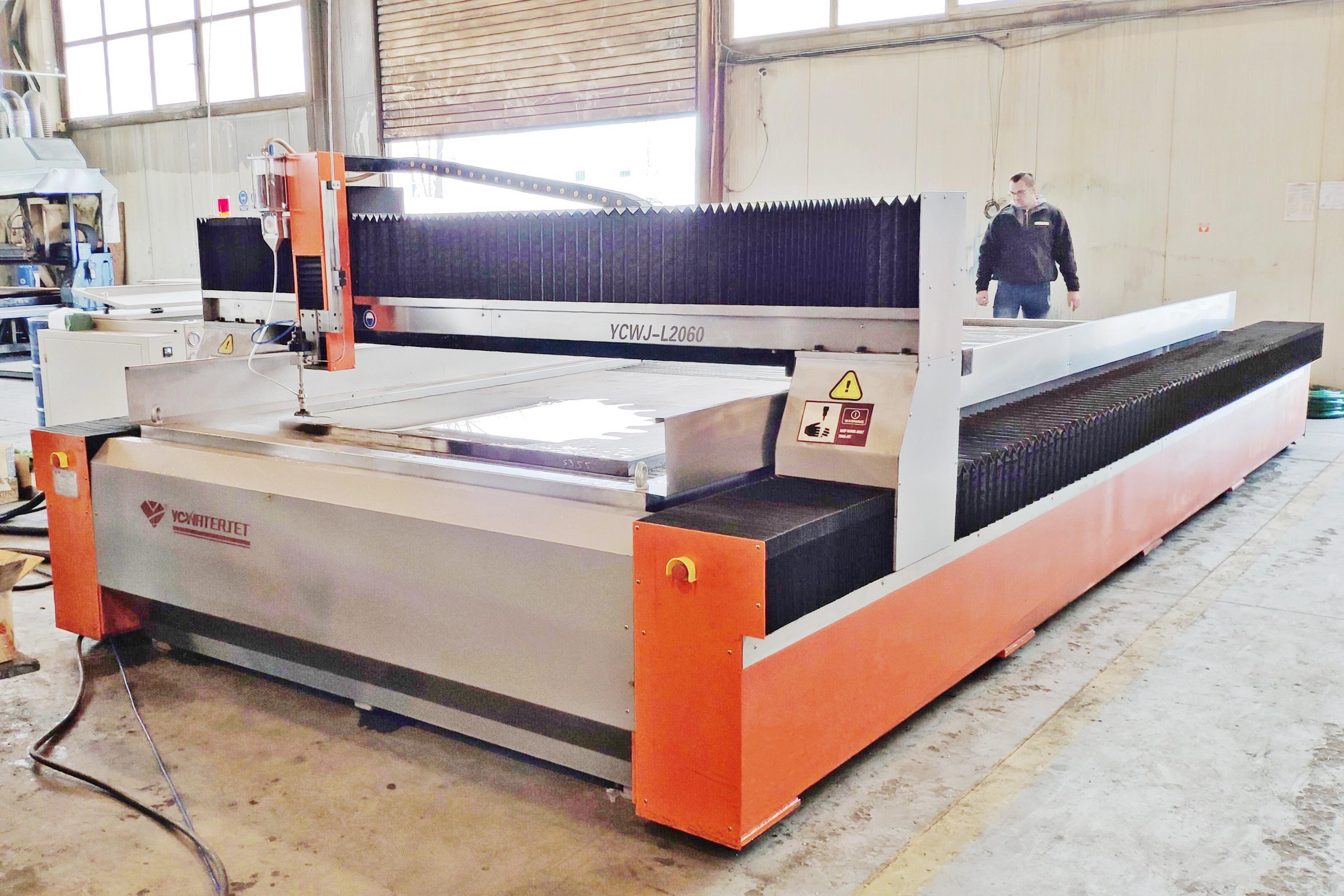 L2060 YC waterjet cutter machine