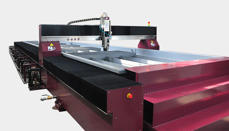Several Simple Methods of Preventing Abrasive Clogging in Water Jet Cutting Machine